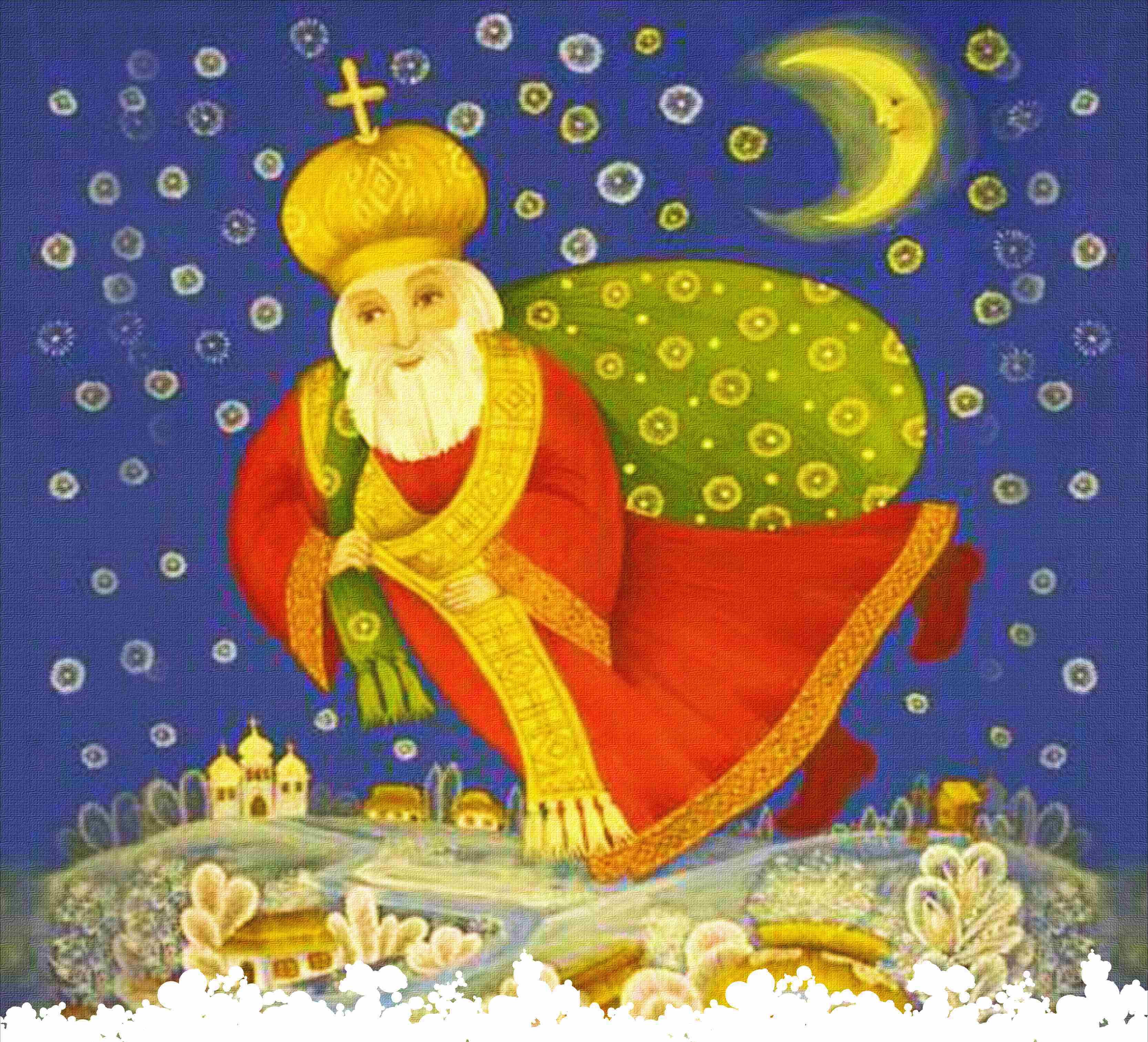 народной медицине открытки ко дню святого николая рисунок древних времен