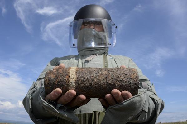 На Прикарпатті знищують застарілу вибухівку